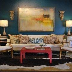 Colourful Home Designs Classic Living Room Design White Sofa - Karbonix