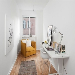 Comfort Study Space With Yellow Armchair - Karbonix