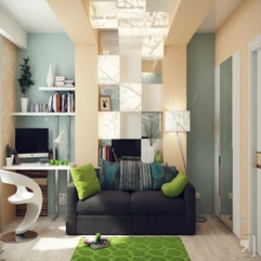 Comfortable Home Office Interior Design With Sofa Offices - Karbonix