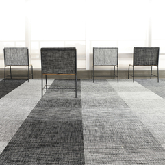 Commercial Woven Synthetic Carpet Tile PLYNYL TILE By Chilewich - Karbonix