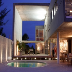 Completed With Small White Light Luxurious Home - Karbonix
