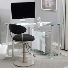 Computer Desks Small Spaces Inspirational Trendy - Karbonix