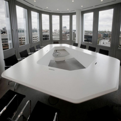 Conference Table Design Inspiration Modern Futuristic - Karbonix