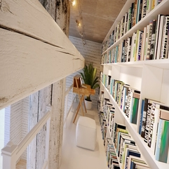 Contemporary Beautiful Home Library - Karbonix