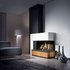 Contemporary Fireplace Tv New Classic - Karbonix