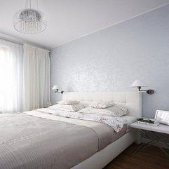 Contemporary Fresh Exclusive Idea Contemporary Bedroom Grey White Bed - Karbonix