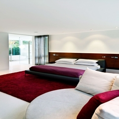 Best Inspirations : Contemporary Home Design Charming Bedroom With Wooden Bed Plus - Karbonix