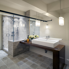 Contemporary Spaces Bathroom Showers In - Karbonix