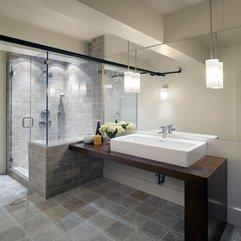 Contemporary Spaces Bathroom Showers In - Karbonix