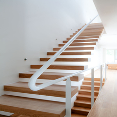 Contemporary Stairs Luxury Wood - Karbonix