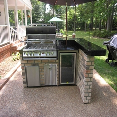 Best Inspirations : Cool Inspiration Outdoor Kitchen Ideas - Karbonix