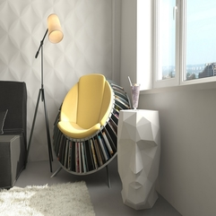 Cool Modern Reading Space - Karbonix