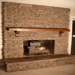 Best Inspirations : Corner Fireplace Ideas In Stone - Karbonix
