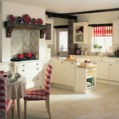 Cottage Kitchen Designs Comfy Kithen Design For Family English - Karbonix