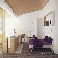 Creative Home Purple White Bedroom Interior Decosee - Karbonix