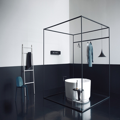 Creative Look Black Bathroom Interior Design Ideas Decobizz - Karbonix