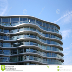 Curved Apartment Building Stock Images Image 1791414 - Karbonix