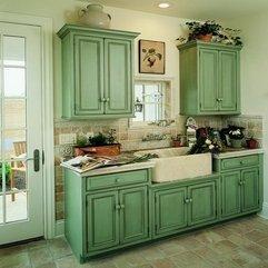 Custom Cupboards Cabinet Green Old - Karbonix