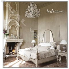 Cute Looking Shabby Chic Bedroom With Fireplace And Luxury - Karbonix