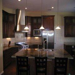 Dark Floors And Granite Countertops Kitchens - Karbonix