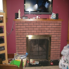 Daughter Of Mary Our Crazy Fireplace Project - Karbonix