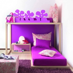 Decorate Small Bedroom With Purple Bed Ideas - Karbonix