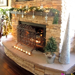 Decorating Charming Fireplace Decor Ideas With Awesome Pictures - Karbonix