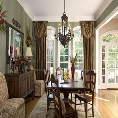 Decorating Fascinating Dining Room Window Treatment Ideas With - Karbonix
