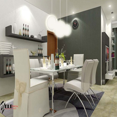 Decorating Glamorous Dining Room Decorating Ideas With Stainless - Karbonix