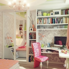 Decoration Awesome Girls Bedroom Design With Charming Crystal - Karbonix