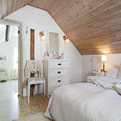 Decoration For Attic Room Looks Elegant - Karbonix