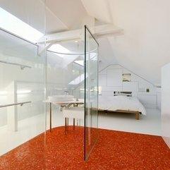 Decoration Striking Open Bathroom Bedroom Design With Glass - Karbonix