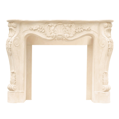 Decorations Sensational Cast Stone Mantels Fireplace With Greece - Karbonix
