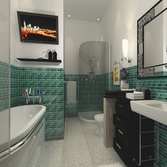 Design Bathjtub Interior - Karbonix