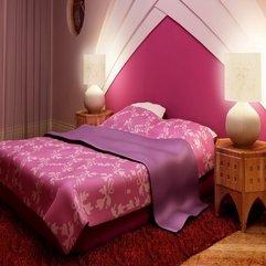 Design Bedroom Set Pink Interior - Karbonix