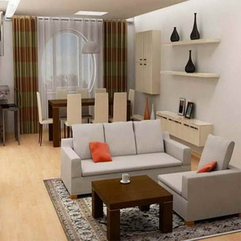 Design For Small Spaces With Nice Carpet Living Room - Karbonix