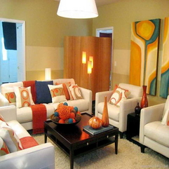 Design For Small Spaces With Warm Design Living Room - Karbonix
