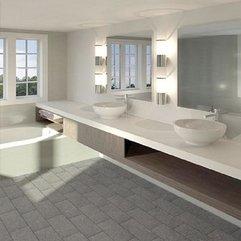 Design Good Looking Bathroom Best Green White Elegant - Karbonix