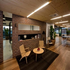 Design Idea With Exposed Brick Wall Office Interior - Karbonix