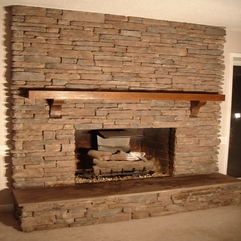 Design Ideas Traditional Fireplace Design With Bricks Elements - Karbonix
