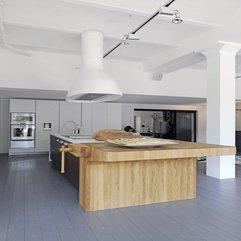 Design Ideas With Butcher Block Side View Modern Kitchen - Karbonix