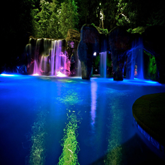 Designs At Night Amazing Backyard - Karbonix