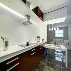 Designs With White And Brown Color Combination Interior Design Modern Kitchen - Karbonix