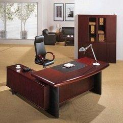 Desk Elegant Office Furniture Contemporary Executive - Karbonix