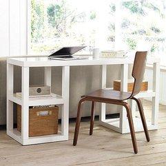Desk White Console - Karbonix