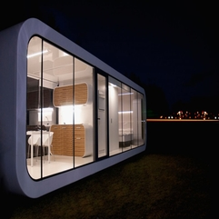 Dining Area Modular Unit Night View - Karbonix