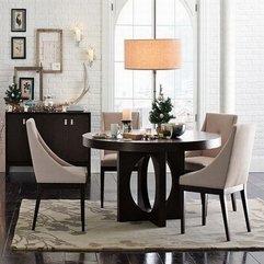 Dining Room Beautiful Minimalist Dining Room Design With Dark - Karbonix