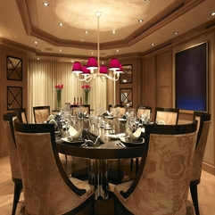 Dining Room Contemporary Dining Room Ideas With Luxurious Circle - Karbonix