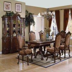 Dining Room Furniture With Royal Design Images - Karbonix