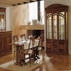 Dining Room Furniture With Wooden Material Images - Karbonix